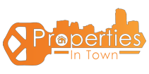 Properties In Town Logo