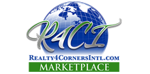 Realty4corners International Marketplace Logo