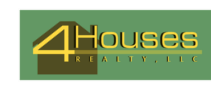 4Houses Realty, LLC Logo