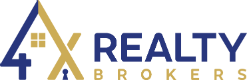 4X Realty Brokers, Inc. Logo