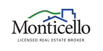 Monticello, Licensed Real Estate Broker Logo